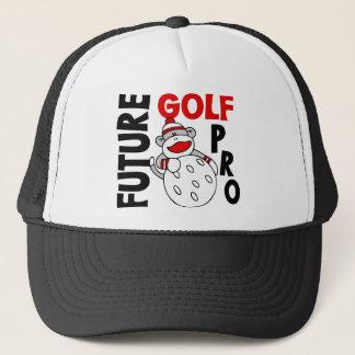 Future Golf Pro Sock Monkey Trucker Hat