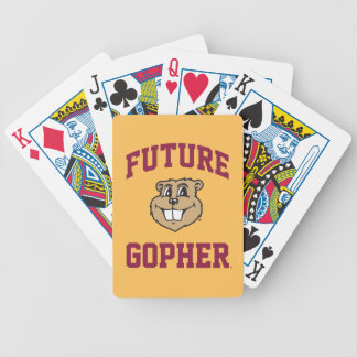 Future Gopher Bicycle Playing Cards