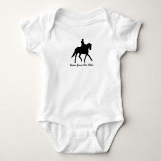 Future Grand Prix Rider (Dressage) Baby Bodysuit