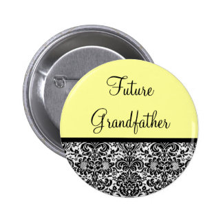 Future Grandfather Pinback Button