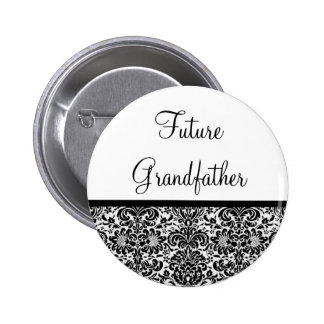 Future Grandfather Pinback Buttons