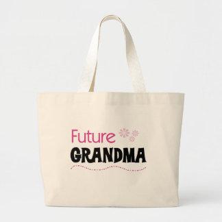 Future Grandma Large Tote Bag