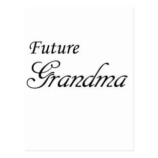 Future Grandma Postcard