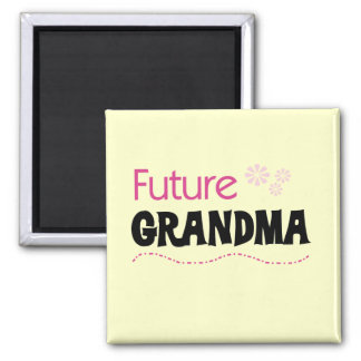 Future Grandma Tshirts and Gifts 2 Inch Square Magnet