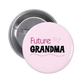 Future Grandma Tshirts and Gifts 2 Inch Round Button