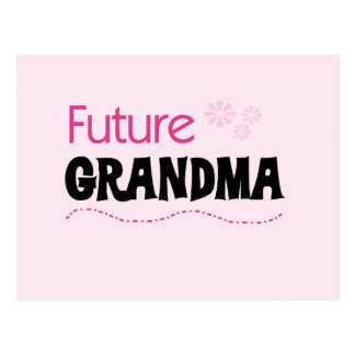 Future Grandma Tshirts and Gifts Postcard
