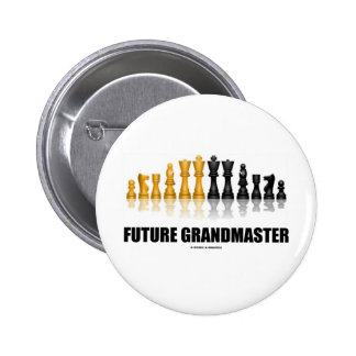 Future Grandmaster (Chess Set) Pin