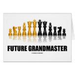 Future Grandmaster (Chess Set) Greeting Card