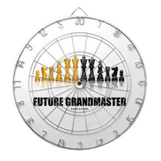Future Grandmaster (Reflective Chess Set) Dartboard