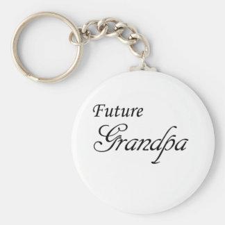 Future Grandpa Keychain