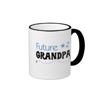 Future Grandpa Ringer Coffee Mug