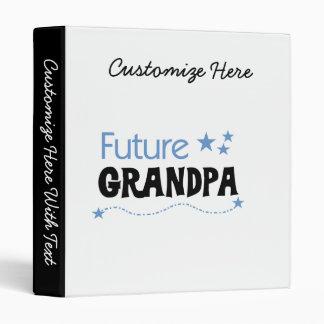 Future Grandpa Tshirts and Gifts 3 Ring Binders