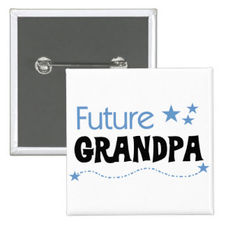 Future Grandpa Tshirts and Gifts Pinback Buttons