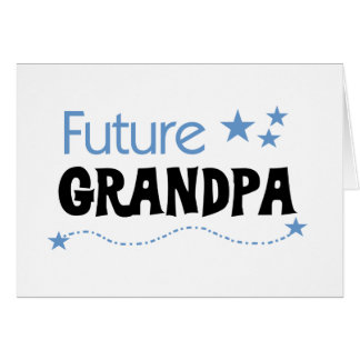 Future Grandpa Tshirts and Gifts Card