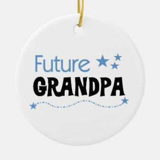 Future Grandpa Tshirts and Gifts Ceramic Ornament