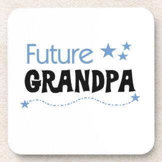 Future Grandpa Tshirts and Gifts Coasters