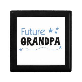 Future Grandpa Tshirts and Gifts Jewelry Box