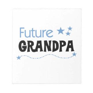 Future Grandpa Tshirts and Gifts Notepads