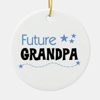 Future Grandpa Tshirts and Gifts Ornaments