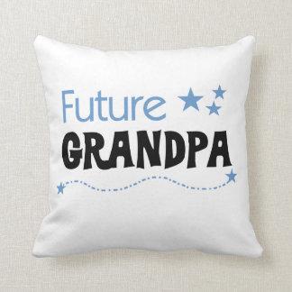 Future Grandpa Tshirts and Gifts Pillow