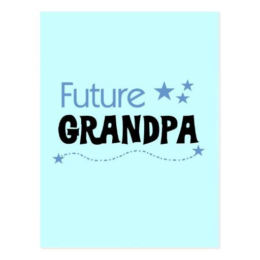 Future Grandpa Tshirts and Gifts Postcard