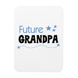 Future Grandpa Tshirts and Gifts Rectangle Magnets