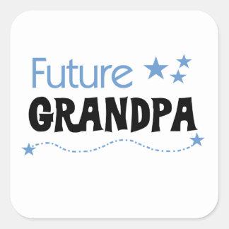 Future Grandpa Tshirts and Gifts Square Sticker