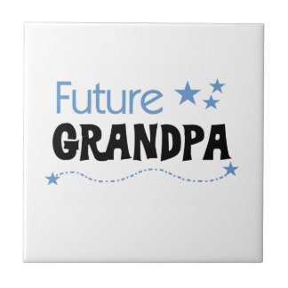 Future Grandpa Tshirts and Gifts Ceramic Tile