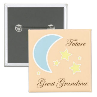 Future Great Grandma Baby shower pin