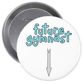 Future gymnast pinback buttons