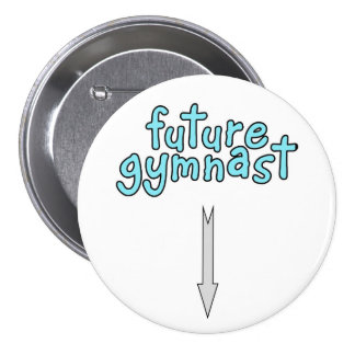 Future gymnast button