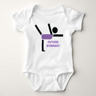 Future gymnast, gymnastics performer custom tshirt