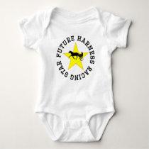 Future Harness Racing Star Baby Bodysuit
