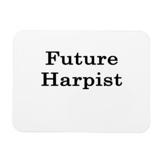 Future Harpist Rectangular Photo Magnet
