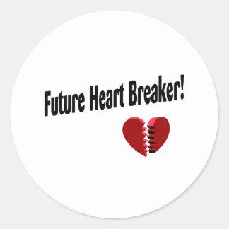 Future Heart Breaker! Classic Round Sticker