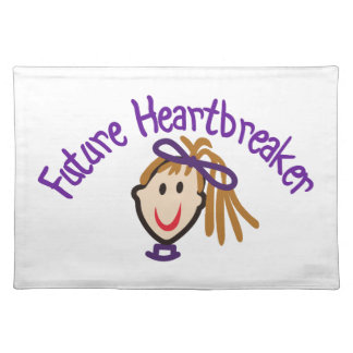 Future Heart Breaker Cloth Placemat