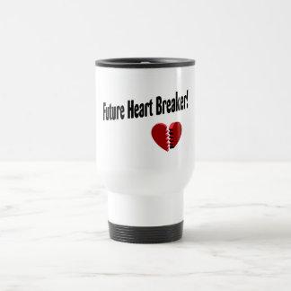 Future Heart Breaker! 15 Oz Stainless Steel Travel Mug
