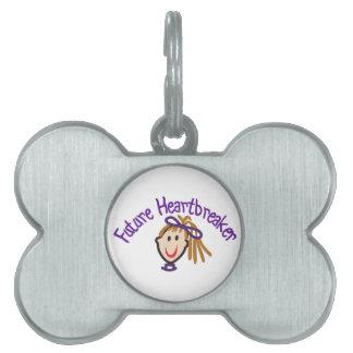 Future Heart Breaker Pet Name Tag