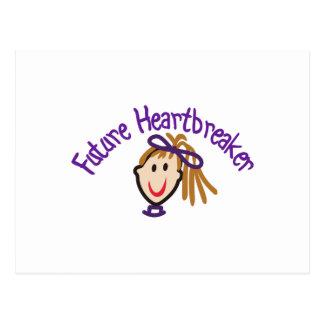 Future Heart Breaker Postcard