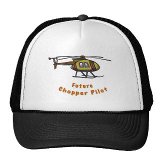 Future helicopter Pilot Trucker Hat