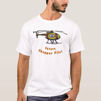 Future helicopter Pilot mens t-shirt