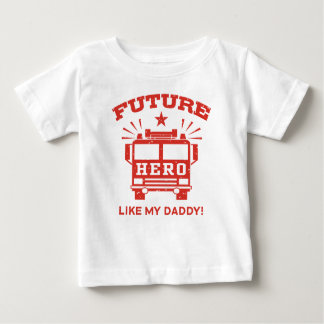 Future Hero Like My Daddy Tee Shirt