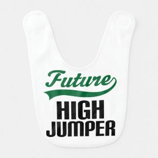 Future High Jumper Baby Bib