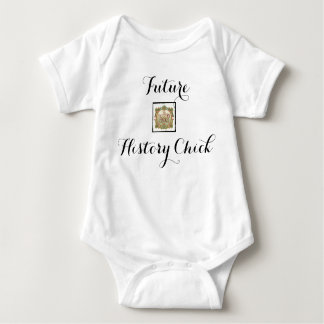 Future History Chick Baby Bodysuit