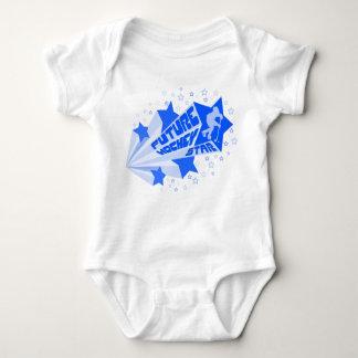 Future Hockey Star (blue) Baby Creeper Babygrow