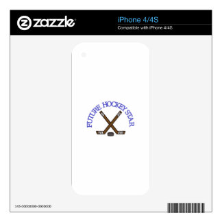 Future Hockey Star Decals For The iPhone 4S
