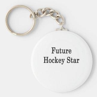 Future Hockey Star Key Chains