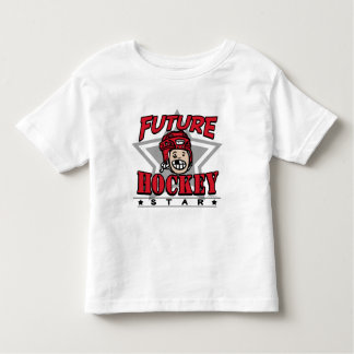 Future Hockey Star Red Helmet Toddler T-shirt