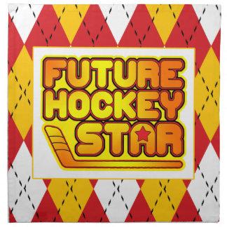 Future Hockey Star Serviette Cloth Napkin