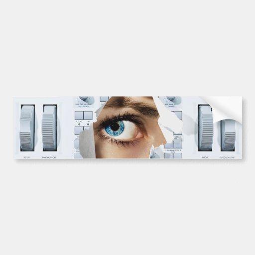 Future House Eye Bumper Stickers